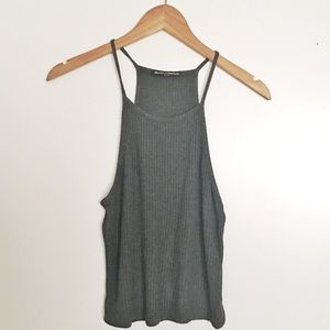 🛍 BRANDY MELVILLE Ribbed Tank Top